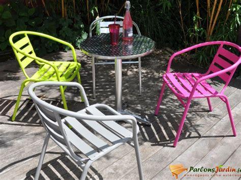 chaise jardin vert anis stunning salon de jardin aluminium vert anis contemporary