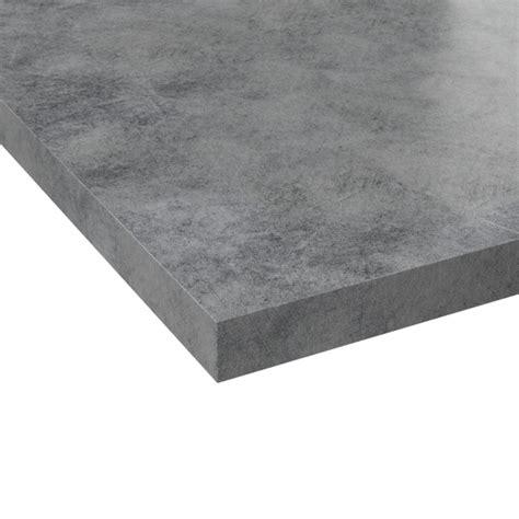 jeu gratuit cuisine plan de travail n 502 décor beton gris clair chant beton gris clair l205xl62xe3 8 planeko oskab