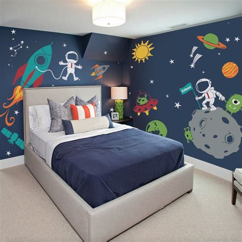 5 Creative Bedrooms With Themes by 27 Best Ideas Space Theme Room That Will Inspire You