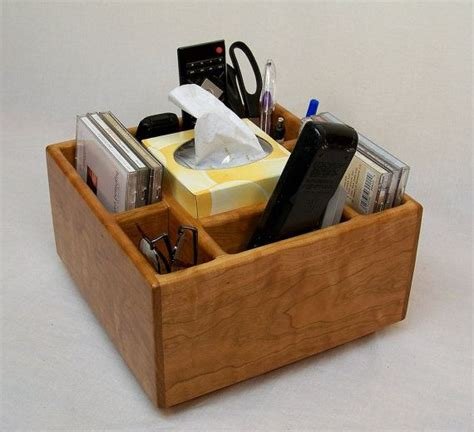 A stylish and repurposed diy coffee table is definitely the trend at the moment, with more and more people wanting individuality within a budget. TV Remote Holder, Coffee Table Caddy, Home Organizer, Recycled Cherry wood   Remote holder, Tv ...