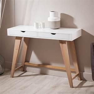 Console Entrée Ikea : console en bois avec 2 tiroirs pablo kaligrafik scandinave pinterest console tiroir ~ Teatrodelosmanantiales.com Idées de Décoration