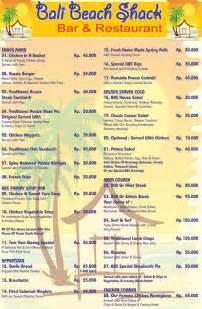 buying a kitchen island food menu