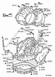 Toyota Corolla Gasket  Automatic Transaxle Oil Pan  Gasket