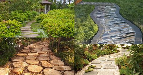 Diy Garden Path Ideas With Tutorials