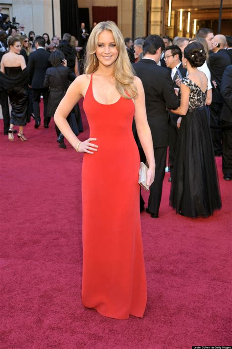 Shailene Woodley Pulls A Jennifer Lawrence In Red Dress At