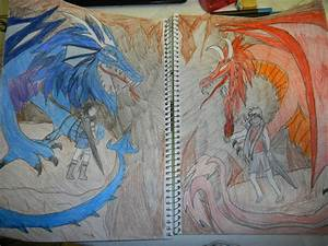 Ice dragon girl vs Fire dragon boy by TheinTrangDo on ...