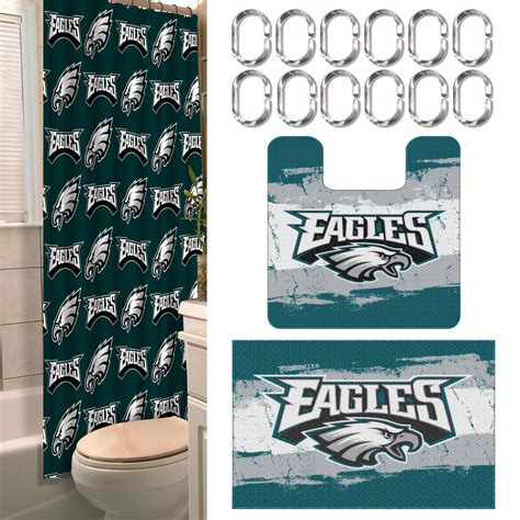 nfl philadelphia eagles bathroom set