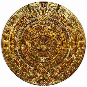 Sacred Symbols 3D: Aztec version of Mayan Calendar