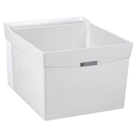Mustee Utility Sink Home Depot by Mustee Utilatub 20 In X 24 In Fiberglass Wall Mount