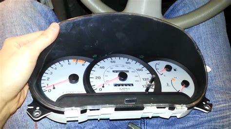 2002 hyundai accent instrument cluster troubleshoot or ...