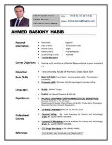 What Personal Information To Put On A Resume dr ahmed habib resume
