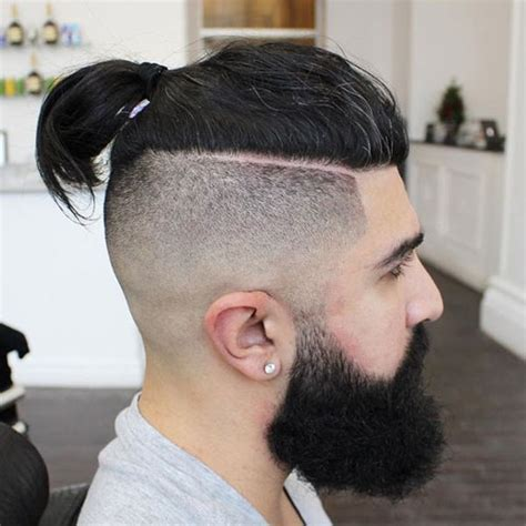 top knots hairstyles  men november