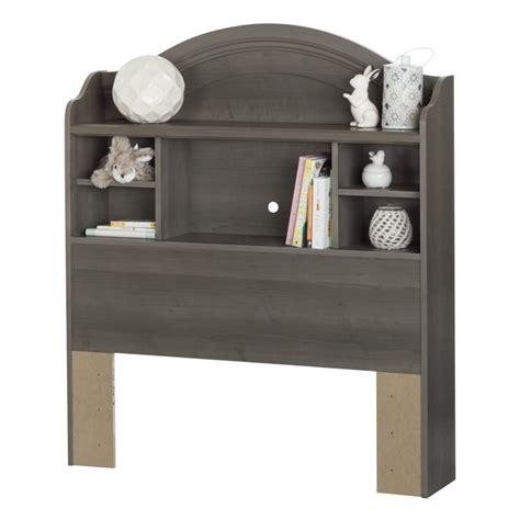 south shore savannah twin bookcase headboard south shore savannah twin bookcase headboard in gray maple