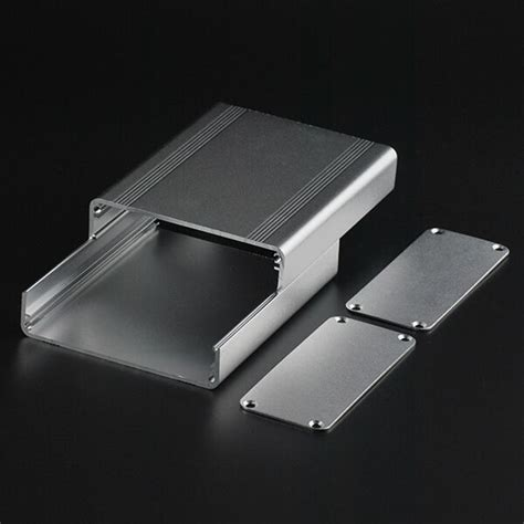 split body extruded aluminum box enclosure case project