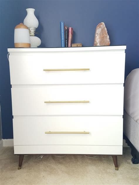 Bedroom Diy Hacks by Image Result For Malm Chest Into Mid Century Modern