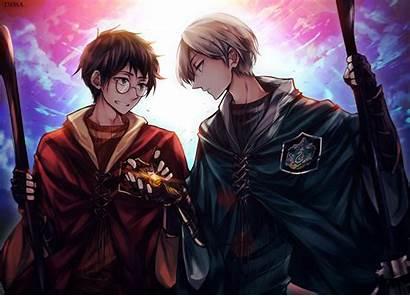 Harry Draco Potter Malfoy Dessa Nya Anime