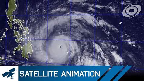 typhoon haiyan yolanda satellite imagery timelapse