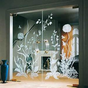 Fantastic, Solid, Glass, Doors, And, Room, Dividers, Inviting, Natural, Light, Into, Modern, Interior, Design