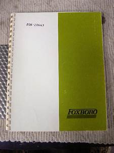 Foxboro Type 12a Temperature Transmitter Manual Set 70n