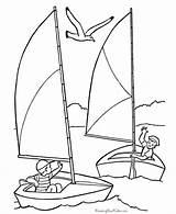 Coloring Sailboat Sailing Boat Coloriage Boats Printable Voilier Optimist Voiliers Avec Kleurplaat Colorare Qui Enfant Printables Desenhos Disegni Amusent Imprimer sketch template