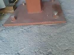 Removable pole stands vise base - HomemadeTools net