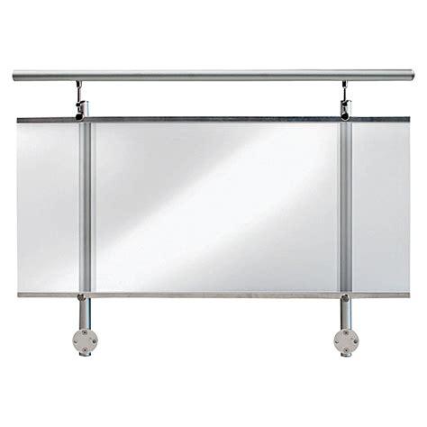 Befestigung Plexiglas Balkon by Treba Frewa Gel 228 Nderset Af1 Seitliche Montage Aluminium