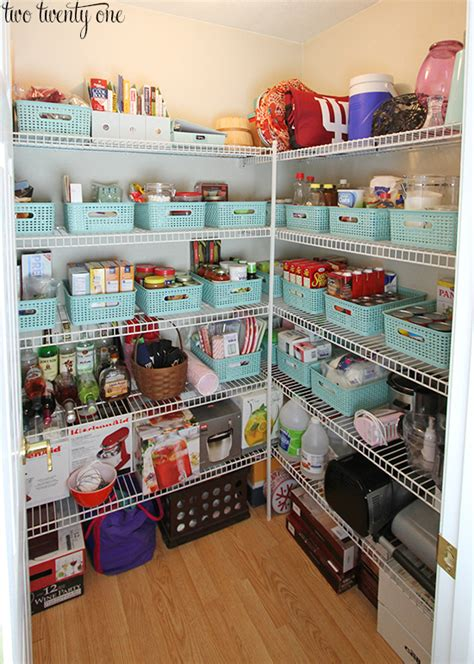 how to organise kitchen storage pantry organization 7293