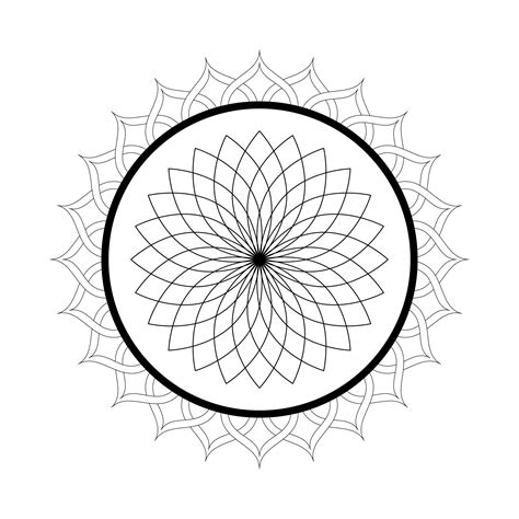printable mandala coloring pages  adults