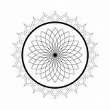 Mandala Coloring Pages Kaleidoscope Printable Lotus Flower Domain Adults Christmas Sheets Print Flowers Malvorlagen Floral Getcolorings Abstract Publicdomainpictures sketch template