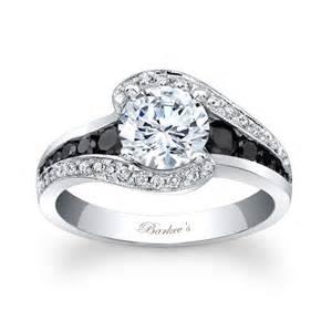 modern engagement ring barkev 39 s modern black engagement ring 7898lbk