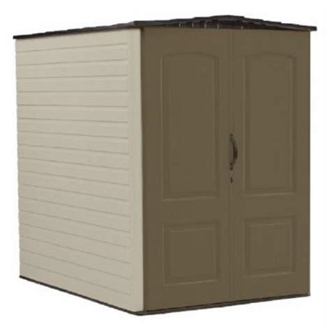 Rubbermaid Storage Shed Accessories Big Max by Rubbermaid 5 Ft X 6 Ft Big Max Plastic Shed 1967672