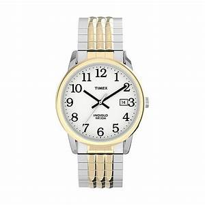 Timex U00ae Unisex Easy Reader Perfect Fit Expansion Watch