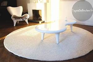 tapis rond very white rond tapis de boules With tapis rond de salon