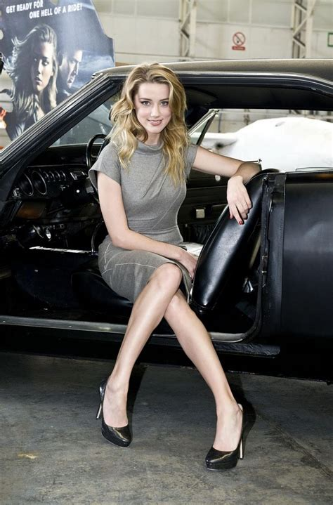 amber heard  dodge charger vintage classic cars