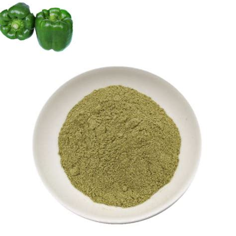 china dried green bell pepper powder suppliers