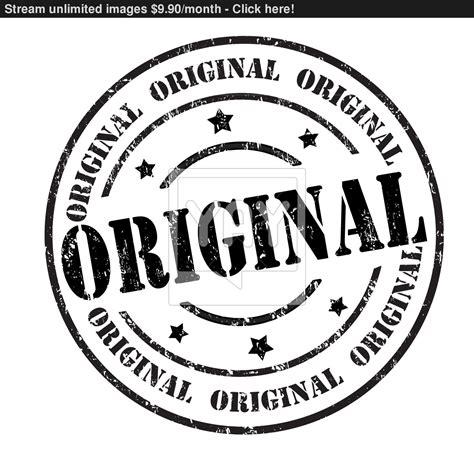 Original Stamp Vector Yayimagescom