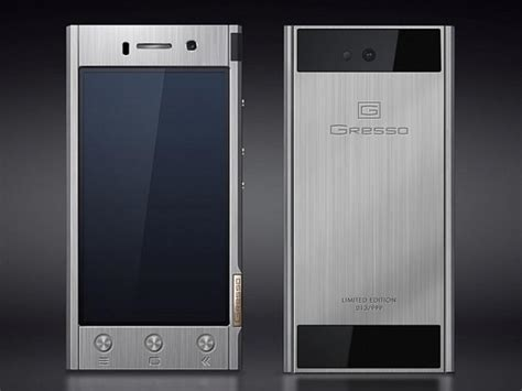gressos solid titanium android phone  sale