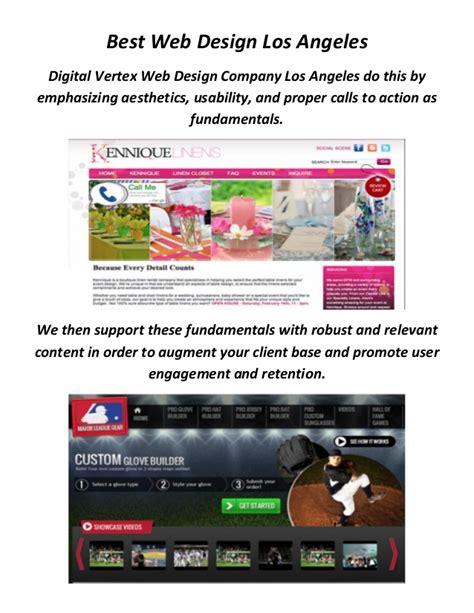 los angeles web design digital vertex best web design company in los angeles ca