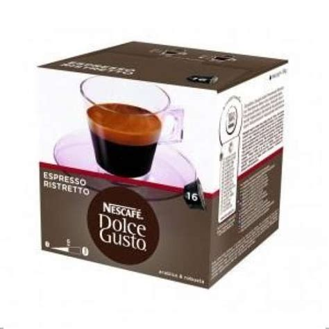 cafe ristretto cafe ristretto dolce gusto pack 16 capsulas cafe