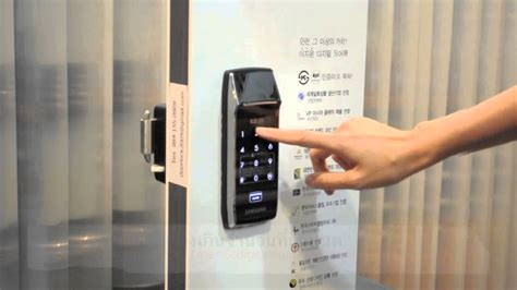 electronic door locks review review ร ว ว samsung shs 2320 digital door lock pin rf