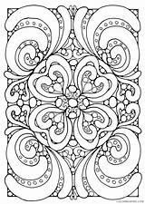 Mandala Square Coloring Pages Printable Getdrawings Getcolorings sketch template