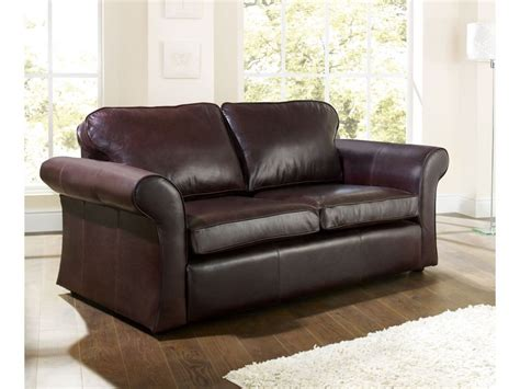 Penthouse Dark Brown Leather Sofa Loveseat Intended For