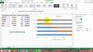 Make Gantt Chart In Excel 2013