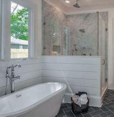 create  beautiful master bathroom   cast iron double ended pedestal tub home