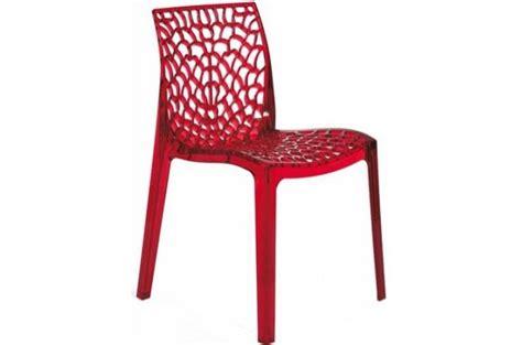 chaise gruyer chaise fumée transparente gruyer transparent