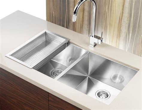 installer evier cuisine évier de cuisine precision en acier inoxydable
