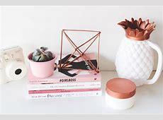 Onde comprar itens de decoração cor de cobre rose gold