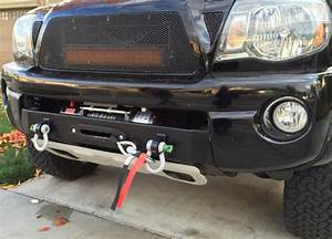 Toyota tacoma winch mount bumper engo recovery