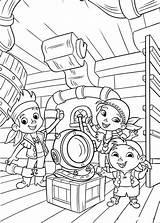 Coloring Jake Pirates Neverland Pages Land Never Fun Coloriage sketch template