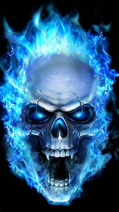 Skull Flame Sugar Artwork